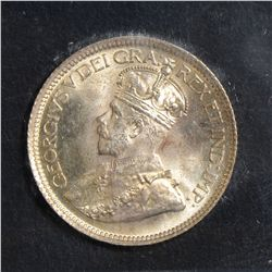 1929 10 Cents, ICCS MS-66, a bit of toning. Great lustre and fields.