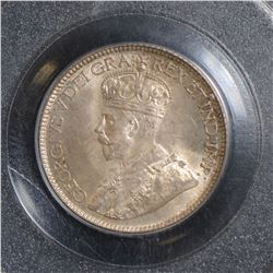 1932 10 Cents, PCGS MS-66, lightly toned, a very nice GEM!