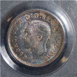 1937 10 Cents, PCGS MS-66, attractively toned.