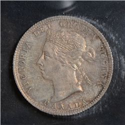 1899 25 Cents, ICCS MS-64, mirror like fields. Lightly toned.