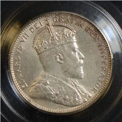 1902H 25 Cents, CCCS MS-64. Nice example