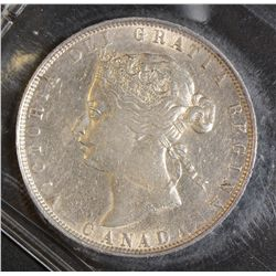 1872H 50 Cents, ICCS EF-40, brilliant and lustrous. Looks better.