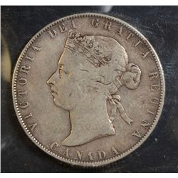 1898 50 Cents, ICCS VG-8 & 1894 50 Cents, ICCS Fair. Lot of 2 coins.
