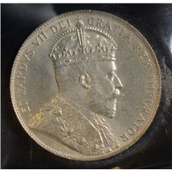 1902 50 Cents, ICCS MS-64, fully brilliant and lustrous. Nice type coin.