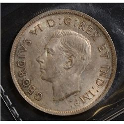 1938 50 Cents, ICCS MS-64.