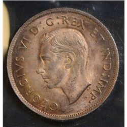 1939 50 Cents, ICCS MS-65, lightly toned. Very nice.