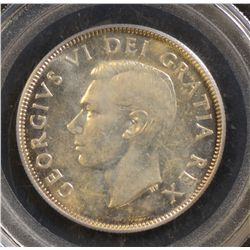 1948 50 Cents, PCGS MS-64, lightly toned.