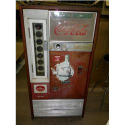 Coca-Cola Vending Machine, Vendo Company Kansas City