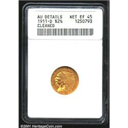 1911-D $2 1/2--Cleaned--ANACS.