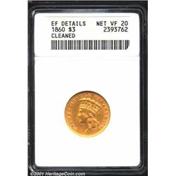 1860 $3--Cleaned--ANACS.