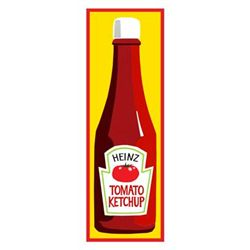 Clifford Faust Pop Art Print -Heinz Tomato Ketchup
