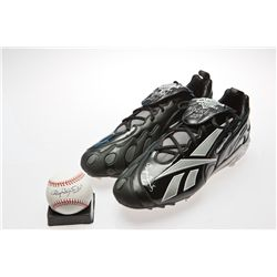 Roger Clemens Signed Baseball, Photo and Reebok Baseball Cleats