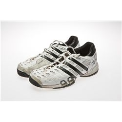 Steffi Graf Signed White Adidas Tennis Shoes