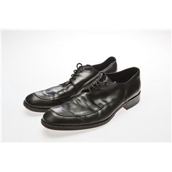 Kevin Spacey Signed Black Giorgio Armani Shoes