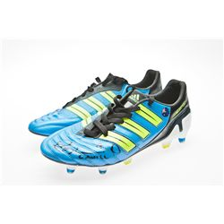 Tim Cahill Signed Blue, Yellow & Black Adidas Soccer Cleats