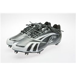 New York Jet Dustin Keller Signed Reebok Football Cleats