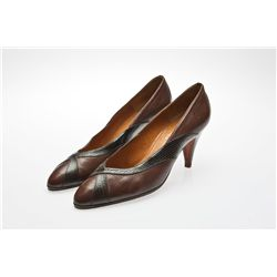 Veteran English Actress Jenny Seagrove Signed Fendi Pumps