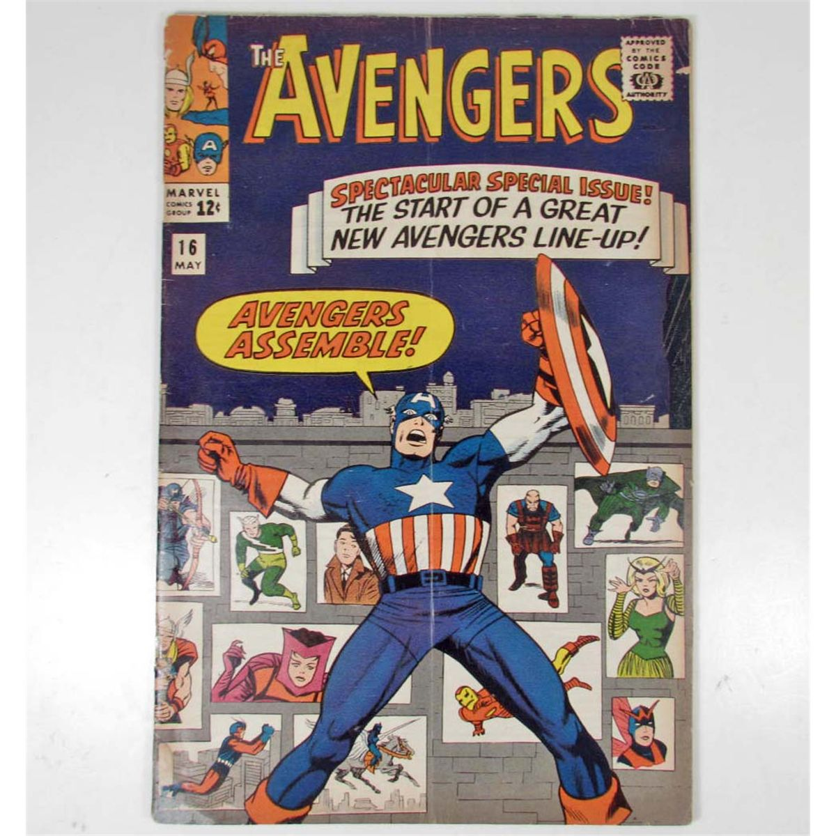 Free Comic Book Day Locations: THE AVENGERS NO. 16 COMIC BOOK