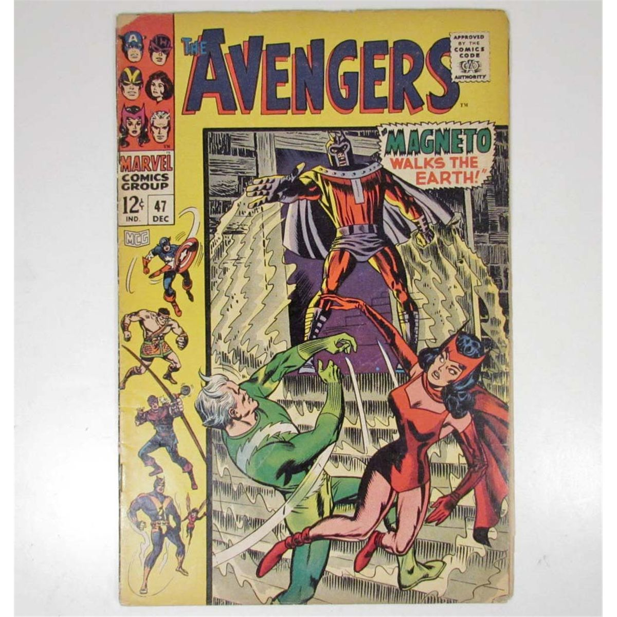 Free Comic Book Day Locations: 1967 THE AVENGERS NO. 48 COMIC BOOK