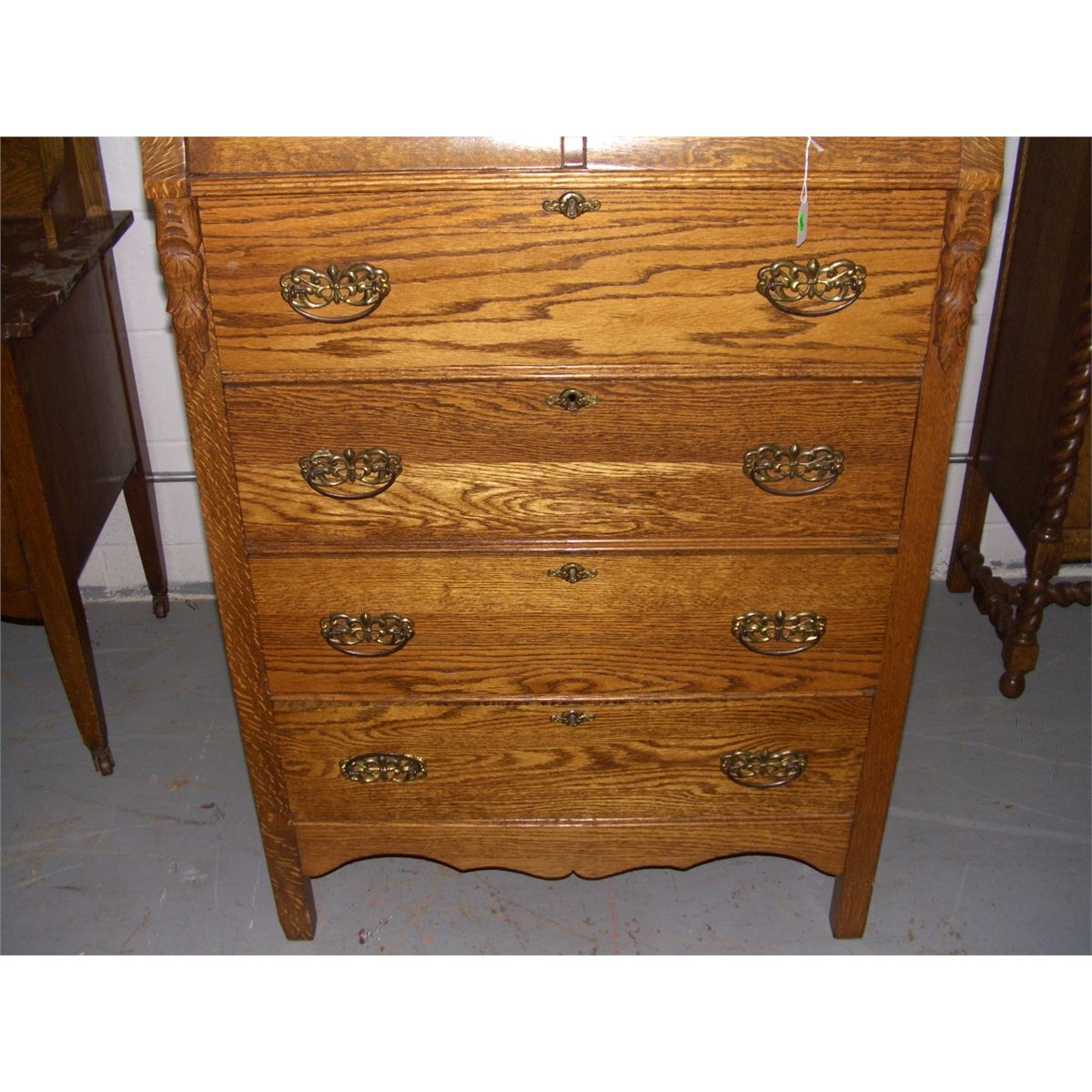 Antique Oak Highboy Dresser Bestdressers 2019