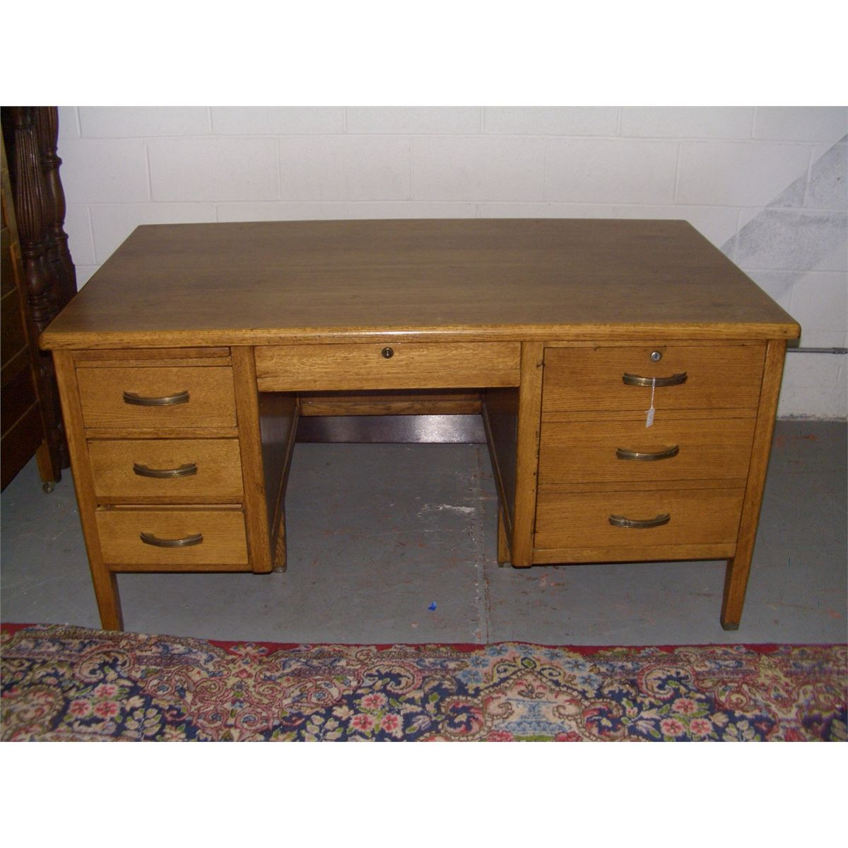 Arts and crafts desks - American Oak Teacher S Desk Arts Crafts Style Professionally Refinished Ssr
