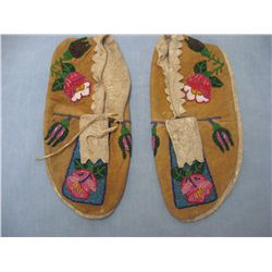 beaded moosehide moccasins from Ft Chipewyan | Flickr - Photo Sharing!