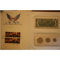 "U.S. ""Bicentennial"" Stamps, Coins,Currency"
