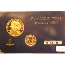 "Presidential Proof Set  ""John Adams"""