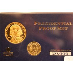 "Presidential Proof Set  ""James Madison"""