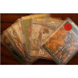 Lot Of 10 Sports Cards In Plastic Sleeves