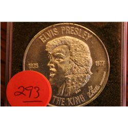 """Elvis Presley The King"" Token  1935-1977"