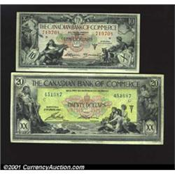 Toronto- The Canadian Bank of Commerce $20 Jan.