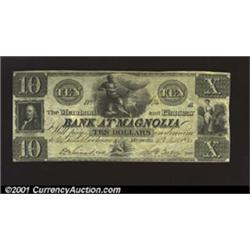 Magnolia, FL- Merchants' &amp; Planters' Bank $10 Nov.