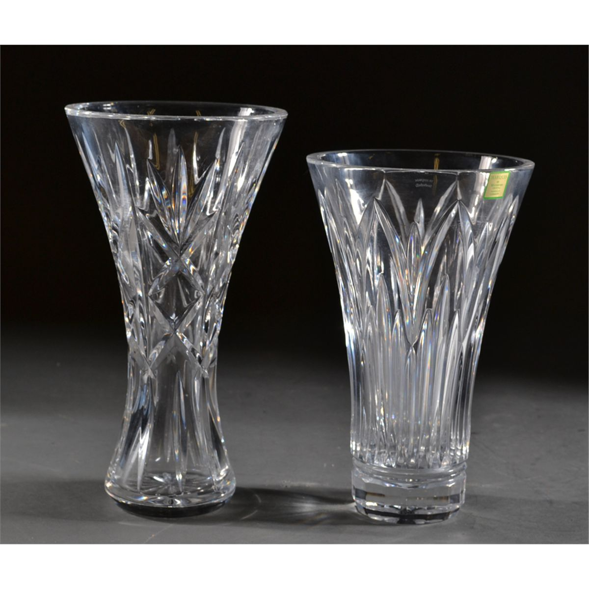 2 waterford crystal vases 2 waterford crystal vases floridaeventfo Image collections