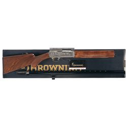 Engraved Browning Auto 5 North American Final Tribute Semi-Automatic Shotgun with Box