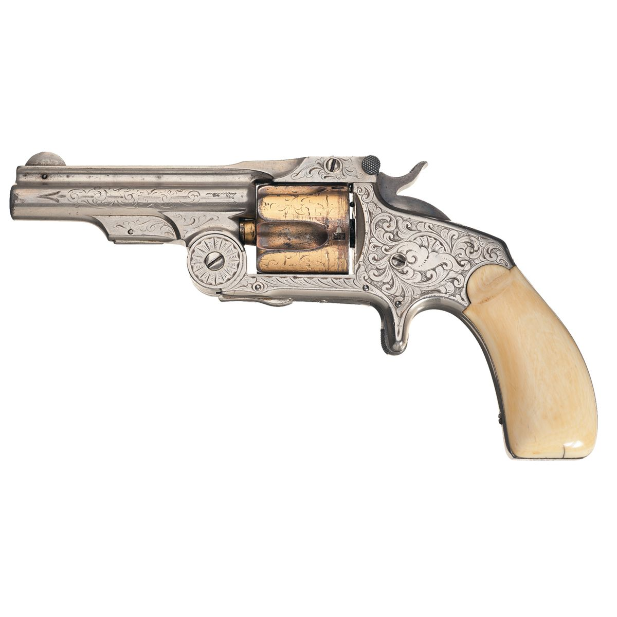 Inscribed, New York Engraved, Smith & Wesson First Model