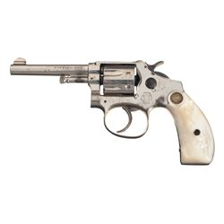 Scarce Smith & Wesson 1st Model Ladysmith Double Action Revolver with Pearl Grips and Purse