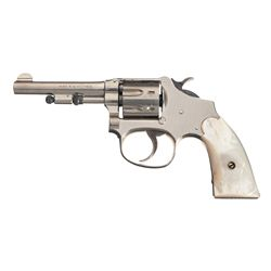 Smith & Wesson 22 Ladysmith 3rd Model Revolver with Pearl Grips