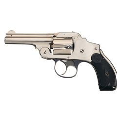 Excellent Smith & Wesson .38 Safety Hammerless 2nd Model Double Action Revolver