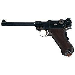 Luger Navy Model http://www.icollector.com/Rare-DWM-Model-1906-Commercial-Navy-Luger_i11406742