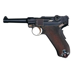 DWM Model 1906  American Eagle  Luger in Scarce 9mm Caliber