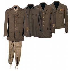 WWII U.S. 14th Air Force China-Burma-India (CBI) Uniform Grouping