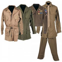 Exceptional U.S. 187th Glider Infantry Regiment Uniform Grouping