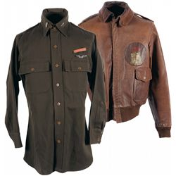 World War II USAAF Lt. William Otto's A-2 Flight Jacket