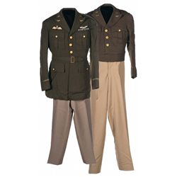 WWII USAAF Service Coat and Ike Jacket