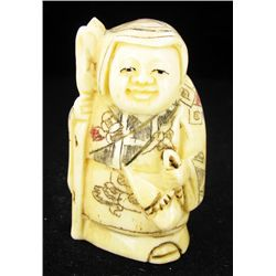 Chinese Handcarved Bone Netsuke (CLB-793)