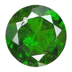 3.37ct VS Round Forest Green Chrome Diopside (GEM-9528)