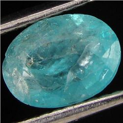 1.07ct Blue Green Natural Apatite Oval (GEM-39695)