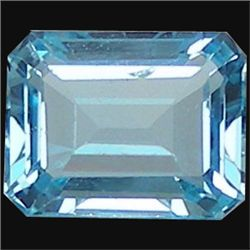 6.07ct Natural Sky Blue Octagon Topaz (GMR-1023)