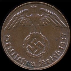 1937E Germany 1pf MS64 (COI-9912)